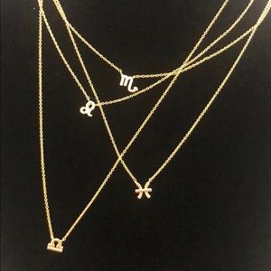 Jewelry - 14K Gold Horoscope Signs Necklace